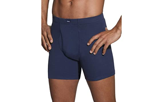 2e70b8facaed Amazon.com: Hanes Classics Men's Dyed Boxer Briefs with ComfortSoft  Waistband: Clothing