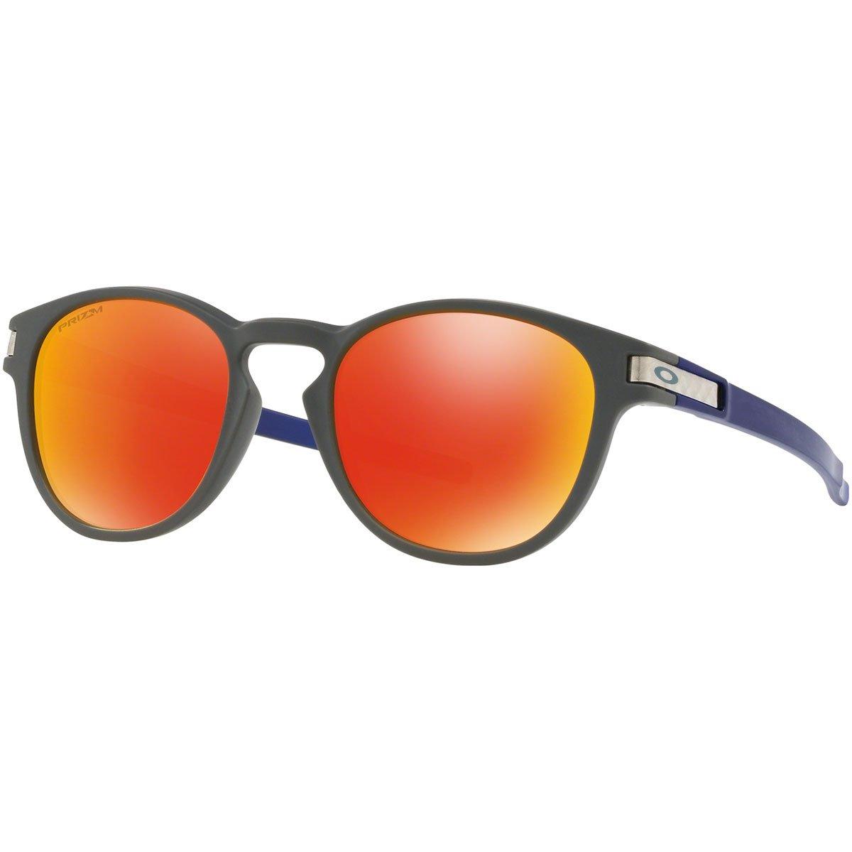 Oakley Latch Gafas de sol, Gris, 52 para Hombre