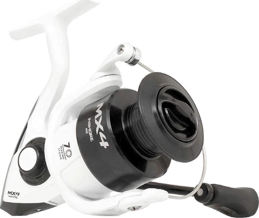 Mitchell Nuevo MX4 Inshore Spinning Arrastre Delante Girar 3500 ...