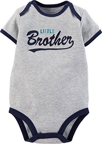 Carters Baby Boys Slogan Bodysuit