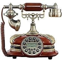 TelPal Retro Vintage Antique Style Rotary Dial Desk Telephone Phone Home Living Room Decor