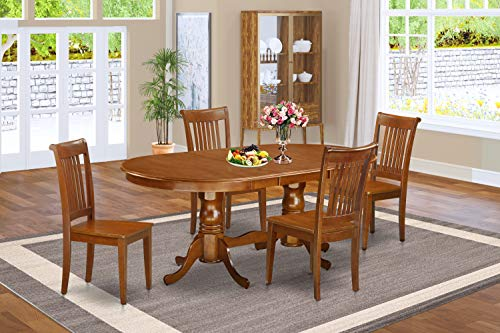 9 PC Dining room set for 8-Dining Table with 8 Dining Chairs