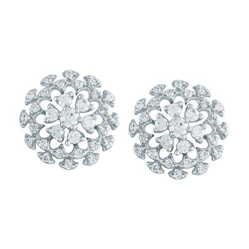 Giantti Diamant Boucle d'oreilles pendantes Femme (0,67CT, qualité HSI, Gh-colour)