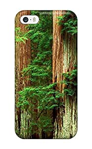 CharlesRaymondBaylor Case For Iphone 5/5S Cover Well-designed Hard Case Cover Forest Trees Protector
