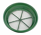 "SE GP2-12 Patented Stackable 13-1/4"" Sifting Pan, Mesh Size 1/2"""