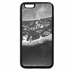 iPhone 6S Plus Case, iPhone 6 Plus Case (Black & White) - Beautiful View
