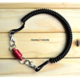 Powerful Magnetic Net Release Keeper Holder for Fly Fishing with Lanyard Red Blue NEW (RED)
