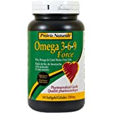 Prairie Naturals Omega-Force 3-6-9 (180 Softgels)