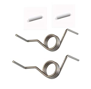 DA81-01345B FRENCH DOOR SPRING Replaces For Samsung Refrigerator DA61-07471A With With Sleeves (Pack of 4))