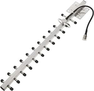 Cablematic - Antena yagi para repetidor GSM 3G de 806-960 MHz