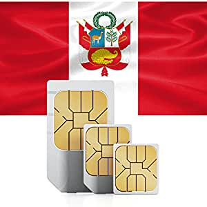 1GB of Mobile Internet data sim card to use in Peru for 30 Days Rechargeable