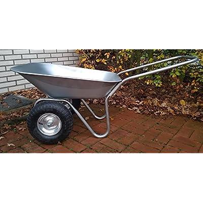 70 L Duel Wheel Wheelbarrow