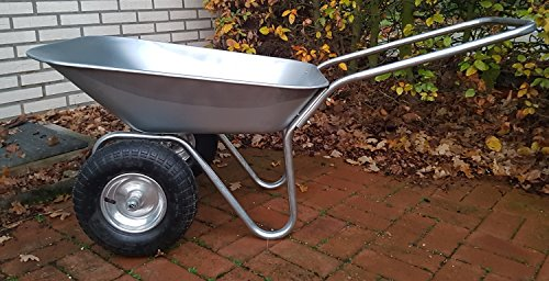 70 L Duel Wheel Wheelbarrow