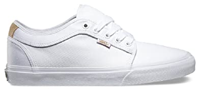 6f0aeb9e00 Image Unavailable. Image not available for. Color  Vans Chukka Low Aloha  White Twill Men s Classic Skate Shoes ...