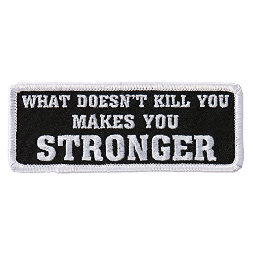 Hot Leathers Unisex-Adult What Doesn't Kill You Patch (Multicolor, 4