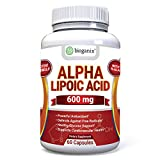 Alpha Lipoic Acid (R-Lipoic) Supplement 600mg Capsules - Potent Natural Antioxidant Formula To