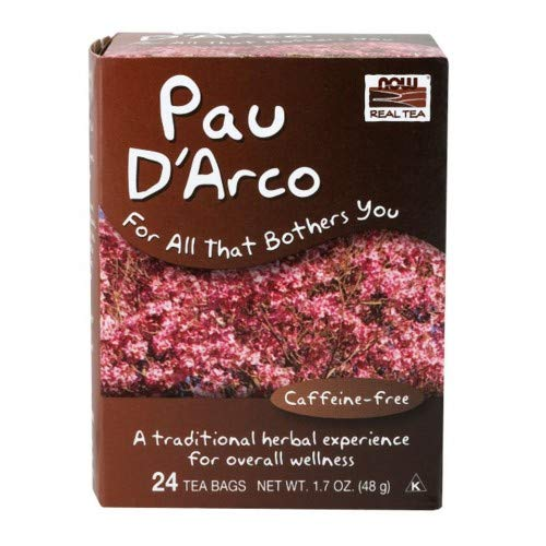 NOW Foods Real Tea PAU D'Arco - 24 Tea Bags