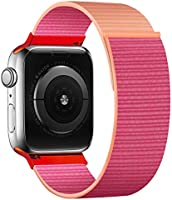 KOUUNN Band Compatible with Apple Watch 38mm 40mm 42mm 44mm iWatch Series 5 4 3 2 1, Band Sports Strap Wristband Loop...