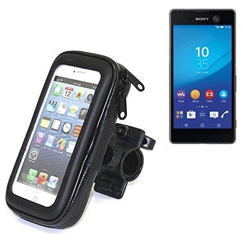 Montaje de la bici para Sony Xperia M5, montaje del manillar para smartphones / teléfonos móviles, de aplicación universal. Conveniente para la bicicleta, motocicleta, quad, moto, etc. repelente al ag