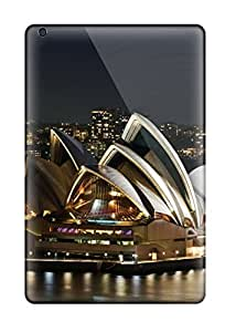 New Style CaseyKBrown Hard Case Cover For Ipad Mini/mini 2- Sydney Opera House 2011