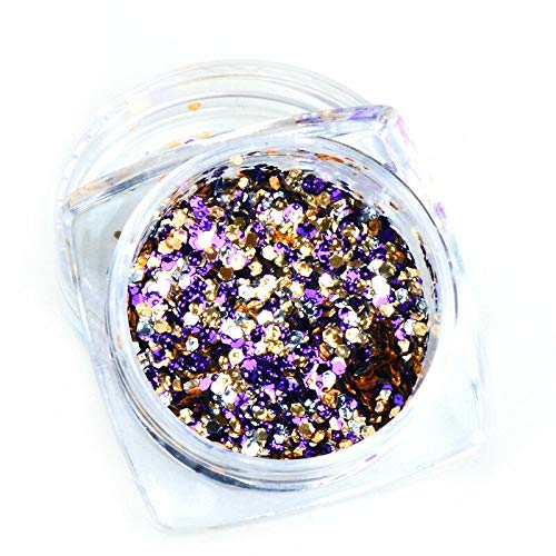 (Shiny Nail Glitter Powder Nail Art Dust Sequins Decoration DIY (Type - 2#))