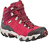 Oboz Bridger Mid BDry Hiking Boot - Women's Rio Red 9