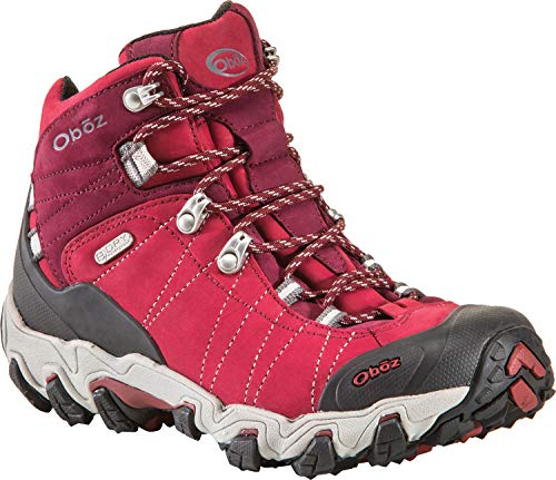 Oboz Women's Bridger Bdry Hiking Boot,Rio Red,8 M US