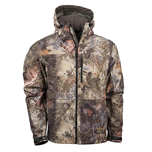 Kings Camo Men's Mountain Shadow Wind-Defender Pro Fleece Jacket, Camo, - Wind Jacket Pro