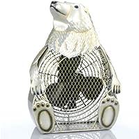Deco Breeze Polar Bear Figurine Fan
