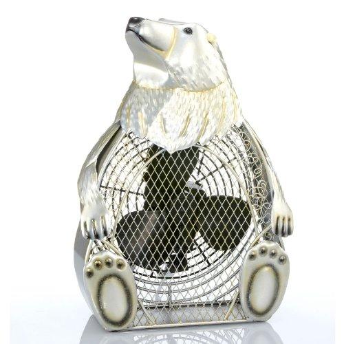 (Deco Breeze Polar Bear Figurine Fan)