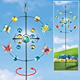 Butterfly Kinetic Spinner Garden Stake