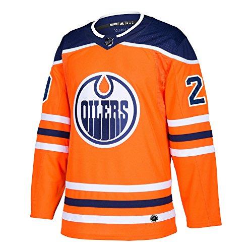 adidas Edmonton Oilers Leon Draisaitl Authentic Pro Jersey Orange (50/M)