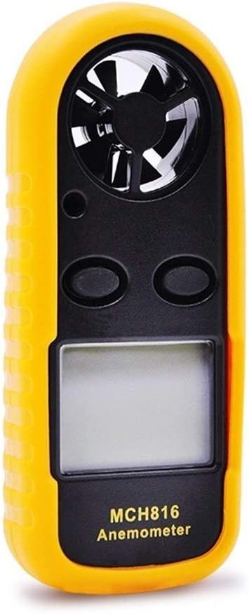 YISUNF Precise MCH816 Digital Air Temperature Anemometer Handheld Tester durable Wind Speed Tester