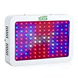 Cheap JS 1200W LED Grow Light Full Spectrum,Dual Chips Plant Lamp with UV&IR Red Blue Light for Indoor Hydroponic Greenhouse Leafy Vegetable Flower Growth (US Plug)