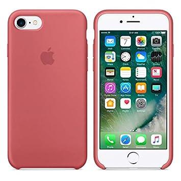 Desconocido Funda para iPhone 7/8, Silicona Camellia Red ...