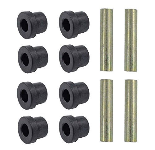 MOTOKU Set of 2 Leaf Spring Bushing Kit Front Rear for Club Car DS 1976-Up and Electric Golf carts ()