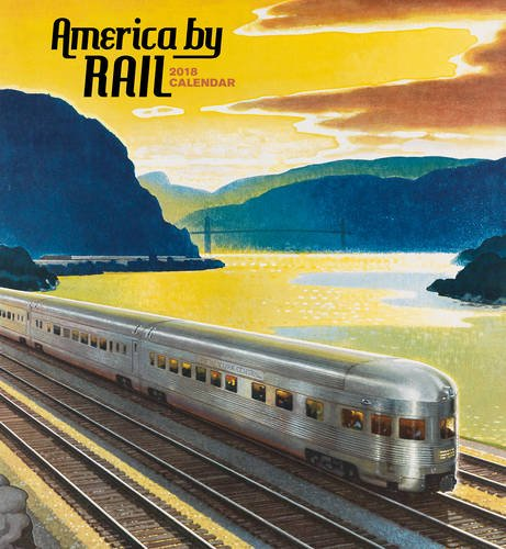 America by Rail 2018 Wall Calendar thumbnail