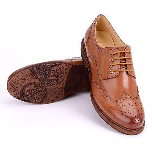 414e1e1d2c8029 Galleon - Women Oxford Leather Shoes E208 (8 B(M)US