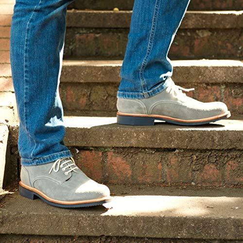 Herring Grey 138026735 Grigio Scarpe Uomo Stringate Suede qwZaRqv4