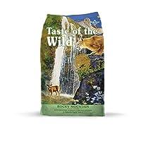 Sabor a lo salvaje Grano libre de alto valor proteico Carne real Comida para gatos seca Rocky Mountain Premium - (Tamaño descontinuado por fabricante)