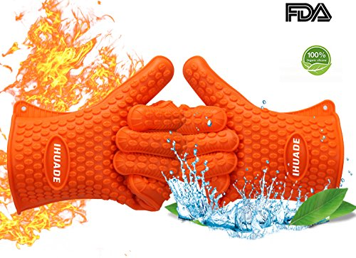 oven cooking grill gloves - 5