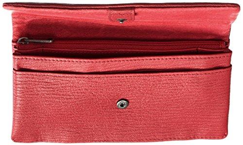 Liebeskind Berlin Damen Slamr Lgrain Geldbörsen, 19x10x4 cm Rot (Cherry Blossom Red 3532)