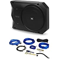 JBL BassPro SL 8 125w RMS Active Slim Underseat Car/Truck Subwoofer Sub+Amp Kit