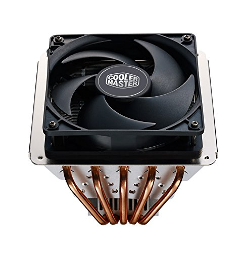 Cooler Master GeminII S524 Version 2 CPU Air Cooler with 5 Direct Contact Heat Pipes (RR-G5V2-20PK-R1) (Cooler Master Vortex compare prices)