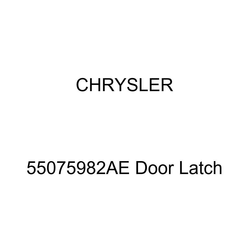 Genuine Chrysler 55075982AE Door Latch