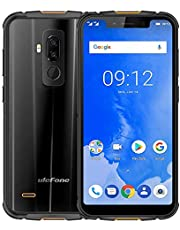 Ulefone Armor 5 4G Mobile Phone IP68 Outdoor Rugged Waterproof,MT6763 Octa-core CPU 2.0GHz 4GB RAM 64GB ROM,Android 8.1,4G Dual SIM,5.85 Inch 18: 9 HD + Sreen,5000mAh,Dual 4G LTE - Black
