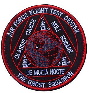 USAF Air Force Black Ops Area 51 Ghost Squadron Helicopter Aviation Tactical Military Embroidery Patch