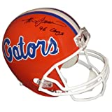 "Steve Spurrier Autographed Florida Gators Deluxe Full-Size Replica Helmet w/ ""96 Champs"""