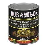 DOS AMIGOS Nacho Sliced Jalapenos (Can), 6 Count