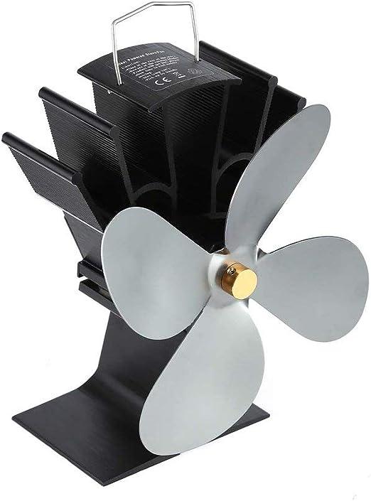 Kinshops Ventilador de Chimenea de energía térmica Ventilador de ...